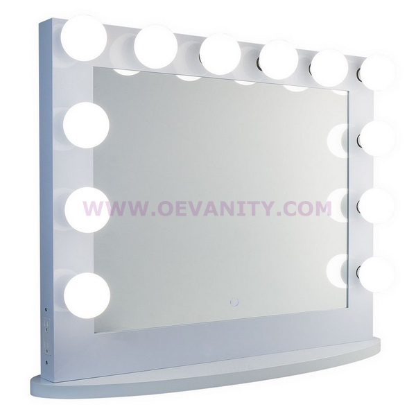 640152 14x LED bulbs diamond XL Mirror Finish Hollywood Makeup M