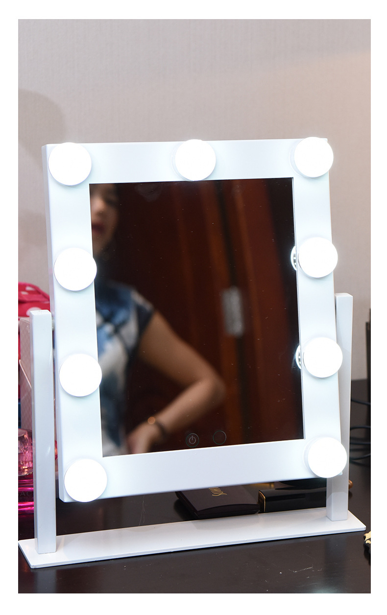 690006 lighted makeup mirrors with touch dimming