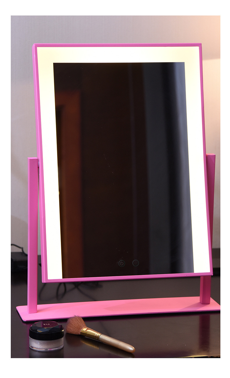 690014 Lighted Makeup Mirror Vanity Mirror with Lights, Touch Sc