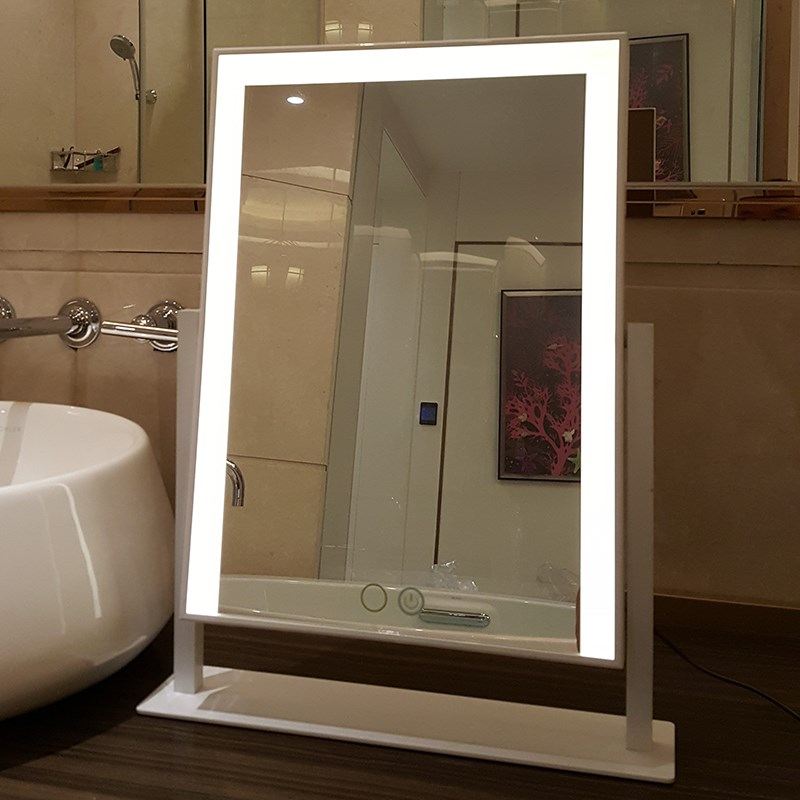 690015 Lighted Makeup Mirror Vanity Mirror with Lights, Touch Sc